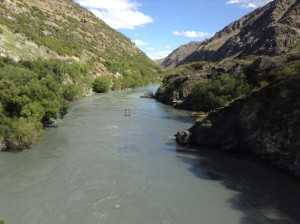 Kawarau River (minus the Argonath)